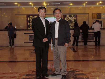 上海市人大常委会副主任郑惠强到中铁四局参观考察